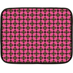 Cute Seamless Tile Pattern Gifts Double Sided Fleece Blanket (mini)  by creativemom