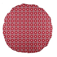 Cute Seamless Tile Pattern Gifts Large 18  Premium Round Cushions