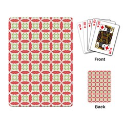 Cute Seamless Tile Pattern Gifts Playing Card by creativemom