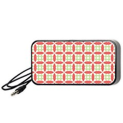 Cute Seamless Tile Pattern Gifts Portable Speaker (black)  by creativemom