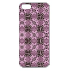 Cute Seamless Tile Pattern Gifts Apple Seamless Iphone 5 Case (clear) by creativemom