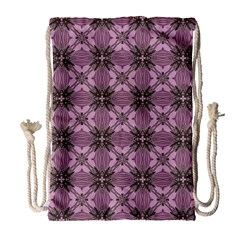 Cute Seamless Tile Pattern Gifts Drawstring Bag (large) by creativemom