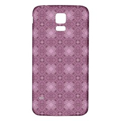 Cute Seamless Tile Pattern Gifts Samsung Galaxy S5 Back Case (white) by creativemom