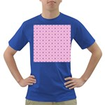 Cute Seamless Tile Pattern Gifts Dark T-Shirt Front