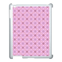 Cute Seamless Tile Pattern Gifts Apple Ipad 3/4 Case (white) by creativemom