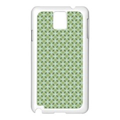 Cute Seamless Tile Pattern Gifts Samsung Galaxy Note 3 N9005 Case (white)