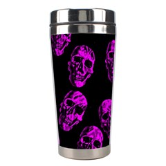 Purple Skulls  Stainless Steel Travel Tumblers by ImpressiveMoments