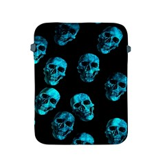 Skulls Blue Apple Ipad 2/3/4 Protective Soft Cases by ImpressiveMoments