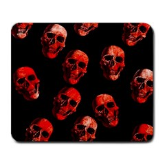 Skulls Red Large Mousepads