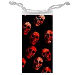Skulls Red Jewelry Bags