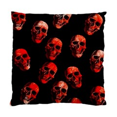 Skulls Red Standard Cushion Case (One Side)