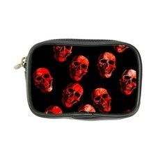 Skulls Red Coin Purse