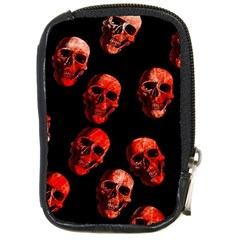 Skulls Red Compact Camera Cases