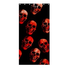 Skulls Red Shower Curtain 36  x 72  (Stall)