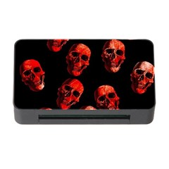 Skulls Red Memory Card Reader with CF