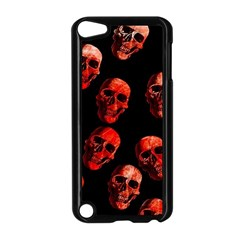 Skulls Red Apple iPod Touch 5 Case (Black)