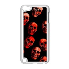 Skulls Red Apple iPod Touch 5 Case (White)