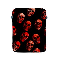 Skulls Red Apple iPad 2/3/4 Protective Soft Cases