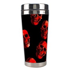 Skulls Red Stainless Steel Travel Tumblers