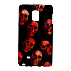 Skulls Red Galaxy Note Edge by ImpressiveMoments
