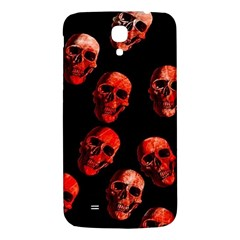 Skulls Red Samsung Galaxy Mega I9200 Hardshell Back Case by ImpressiveMoments