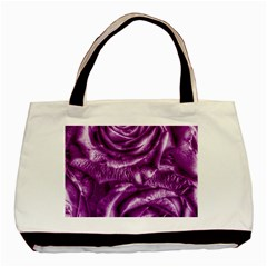 Gorgeous Roses,purple  Basic Tote Bag (two Sides)