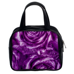 Gorgeous Roses,purple  Classic Handbags (2 Sides)
