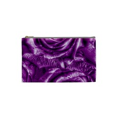 Gorgeous Roses,purple  Cosmetic Bag (small)