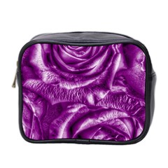 Gorgeous Roses,purple  Mini Toiletries Bag 2 Side