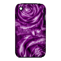 Gorgeous Roses,purple  Apple Iphone 3g/3gs Hardshell Case (pc+silicone)