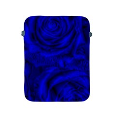 Gorgeous Roses,deep Blue Apple Ipad 2/3/4 Protective Soft Cases by MoreColorsinLife