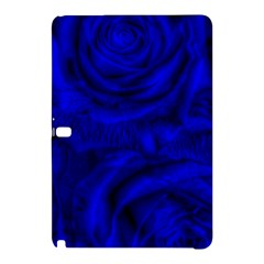 Gorgeous Roses,deep Blue Samsung Galaxy Tab Pro 10 1 Hardshell Case by MoreColorsinLife