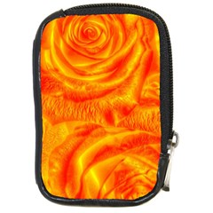 Gorgeous Roses, Orange Compact Camera Cases