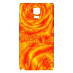 Gorgeous Roses, Orange Galaxy Note 4 Back Case