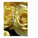Yellow Roses Large Garden Flag (Two Sides) Back