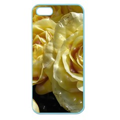 Yellow Roses Apple Seamless Iphone 5 Case (color) by MoreColorsinLife
