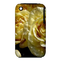 Yellow Roses Apple Iphone 3g/3gs Hardshell Case (pc+silicone)