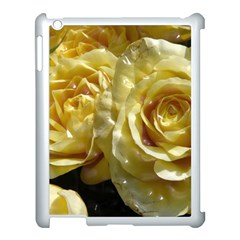 Yellow Roses Apple Ipad 3/4 Case (white)