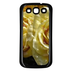 Yellow Roses Samsung Galaxy S3 Back Case (black)