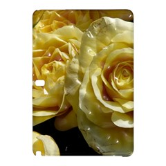 Yellow Roses Samsung Galaxy Tab Pro 10 1 Hardshell Case by MoreColorsinLife