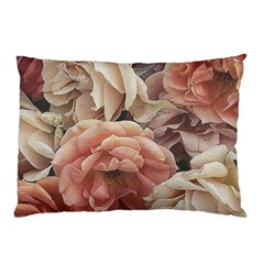 Great Garden Roses, Vintage Look  Pillow Cases by MoreColorsinLife