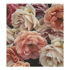 Great Garden Roses, Vintage Look  Shower Curtain 66  X 72  (large)