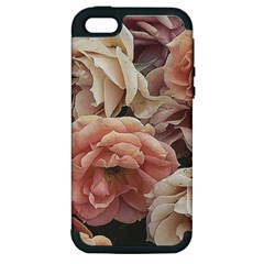 Great Garden Roses, Vintage Look  Apple Iphone 5 Hardshell Case (pc+silicone) by MoreColorsinLife