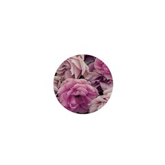 Great Garden Roses Pink 1  Mini Magnets