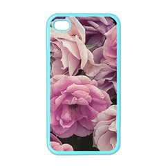 Great Garden Roses Pink Apple Iphone 4 Case (color)
