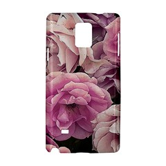 Great Garden Roses Pink Samsung Galaxy Note 4 Hardshell Case by MoreColorsinLife