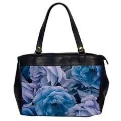 Great Garden Roses Blue Office Handbags