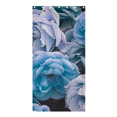 Great Garden Roses Blue Shower Curtain 36  X 72  (stall)