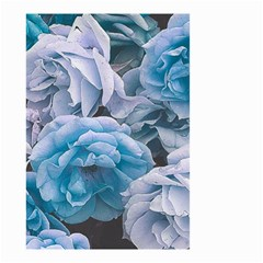 Great Garden Roses Blue Small Garden Flag (two Sides) by MoreColorsinLife