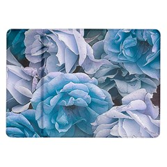 Great Garden Roses Blue Samsung Galaxy Tab 10 1  P7500 Flip Case by MoreColorsinLife